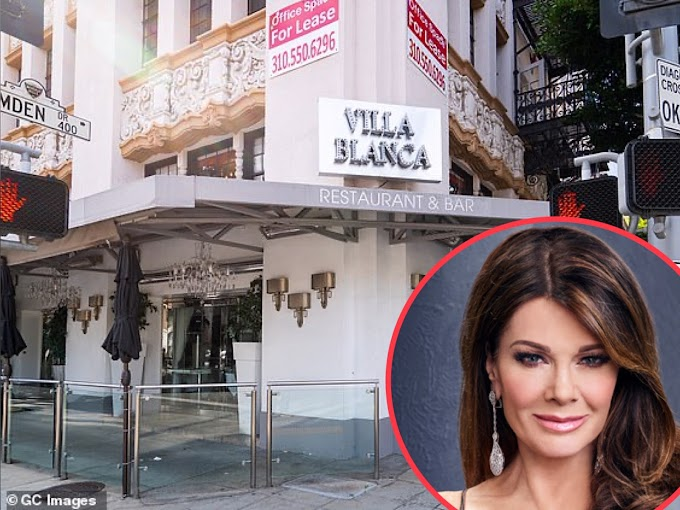 Lisa Vanderpump Confirms Her Restaurant Villa Blanca Is Closing After 12 Years But Hopes To Reopen In New Location After Pandemic!