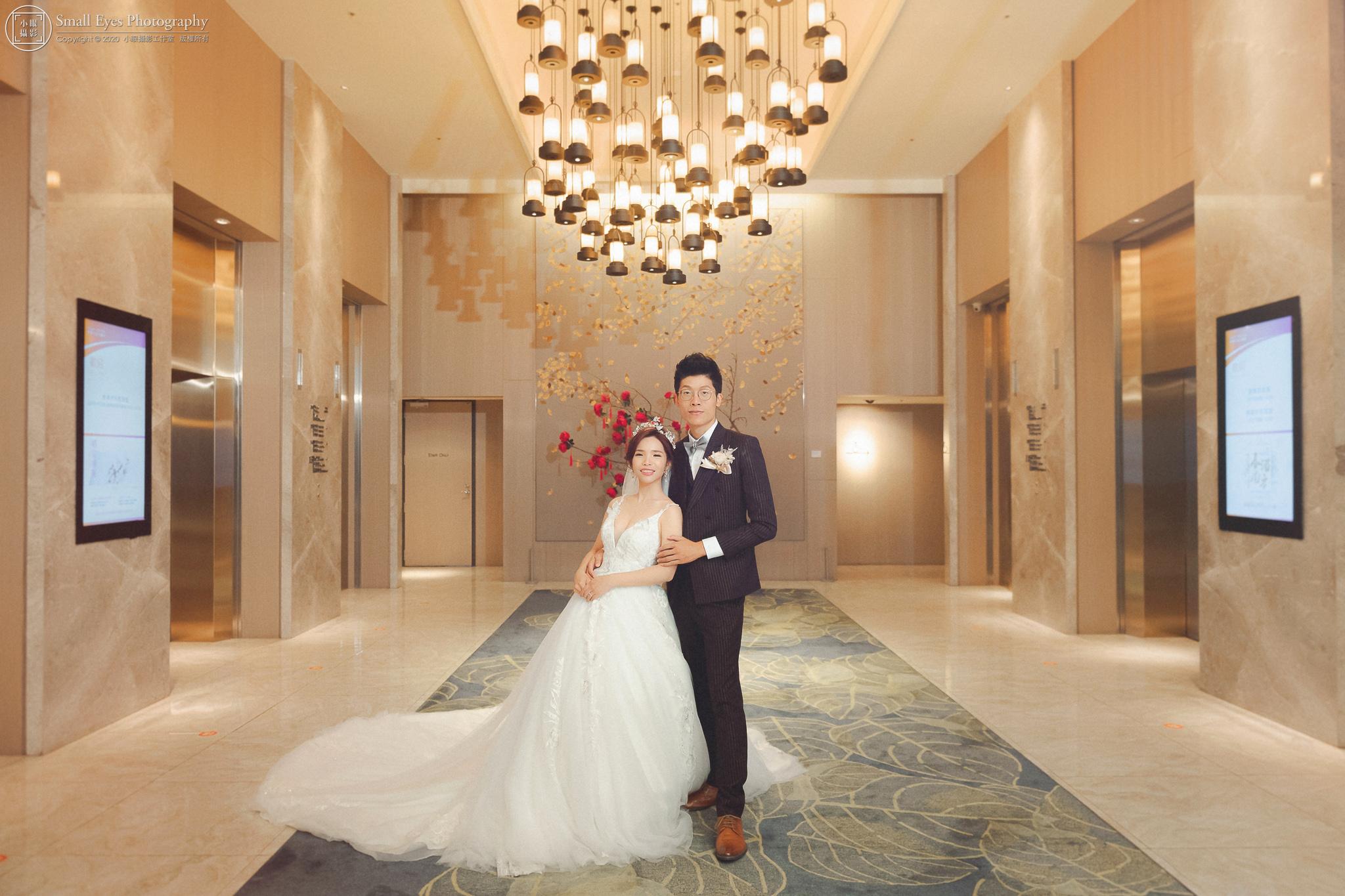 【婚禮紀實】婚攝小眼 - 立丞 & 薏竹 - 婚禮紀錄 @格萊天漾大飯店