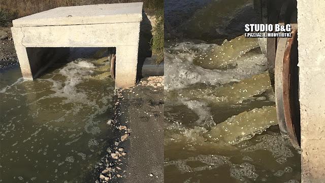 Αργολίδα: Ρύπανση της θάλασσας από τον βιολογικό διαπίστωσε το Λιμεναρχείο Ναυπλίου (βίντεο)