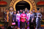 Hadiri Workshop Busana, Ayu Pastika Ingatkan Penggunaan Bahan Tekstil Tradisional