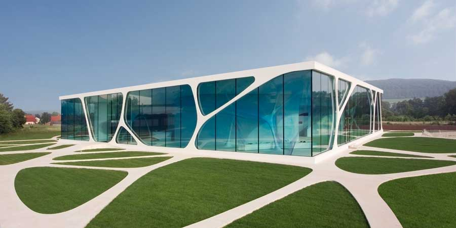 3DELUXE GLASS HOUSE CUBE