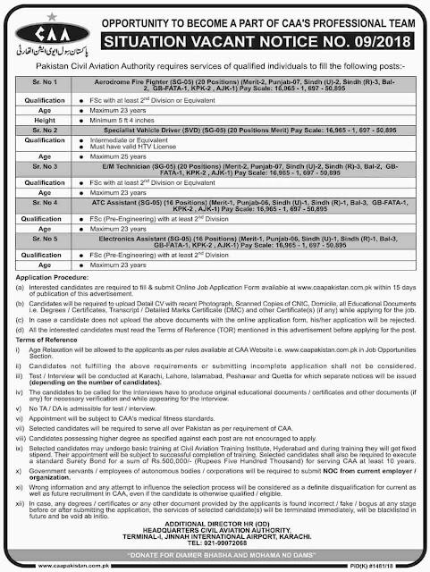 Jobs in Pakistan Civil Association