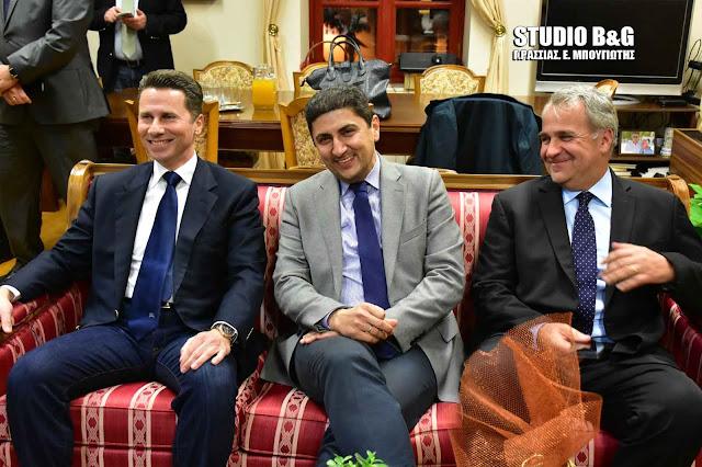 Ο Λευτέρης Αυγενάκης ξεκαθαρίζει το τοπίο στην Πελοπόννησο! - Συνάντηση με περιφερειακούς συμβούλους που ανήκουν στη Ν.Δ.