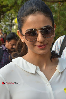 Actress Rakul Preet Singh at Endometriosis Awareness Walk at Apollo Cradle  0004.jpg