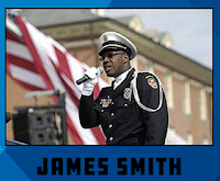 "James ""Rambo"" Smith - #NASCAR #NCWTS National Anthem"