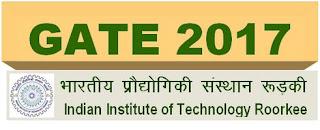 GATE 2017 Examination Schedule @ gate.iitr.ernet.in