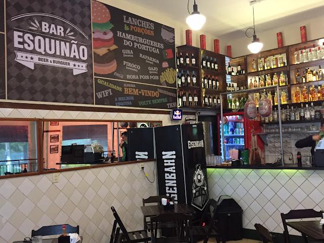 bar esquinão em sousas