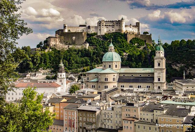 Hohensazlburg, o castelo de Salzburgo