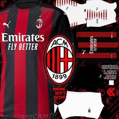 AC Milan Kits 2020/21