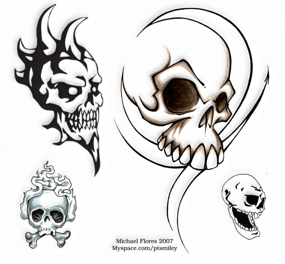 Tatuaż Wzory Tatuaży Tatuaże Czaszki