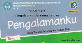 Soal kelas 1 tema 5 Subtema 2