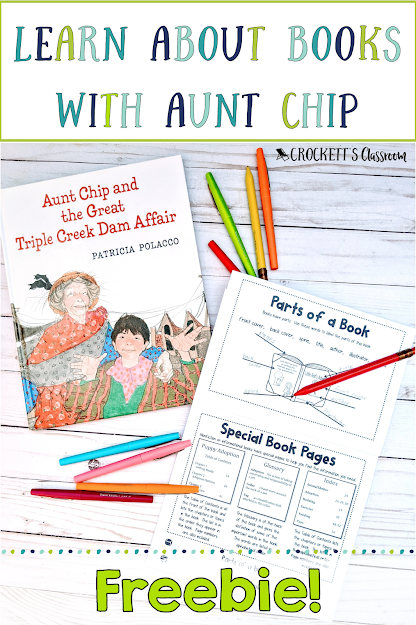 Let Aunt Chip teach your kids about book and how they enrich our lives.