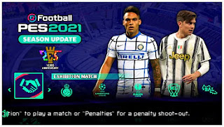 Download eFootball PES 2021 PPSSPP Season Update CV2 Update Winter Transfer & Camera PS5 English Version