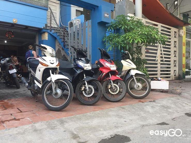 thuê xe máy ở Hải Phòng