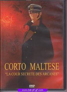 Dvd, Corto Maltese, la cour secrète des Arcanes