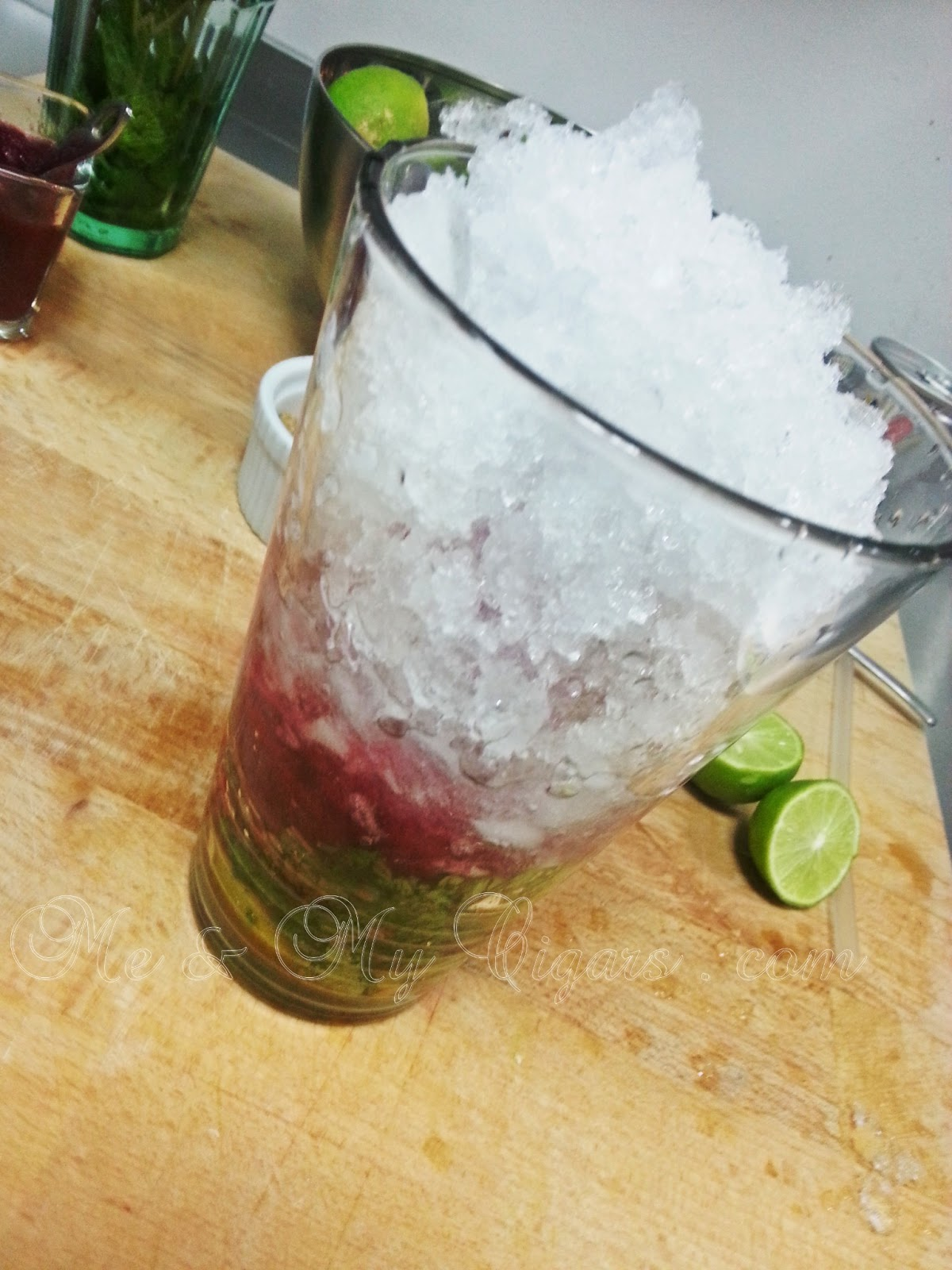 Me And My Cigars Summer Drink Recipe Beetroot Mojito
