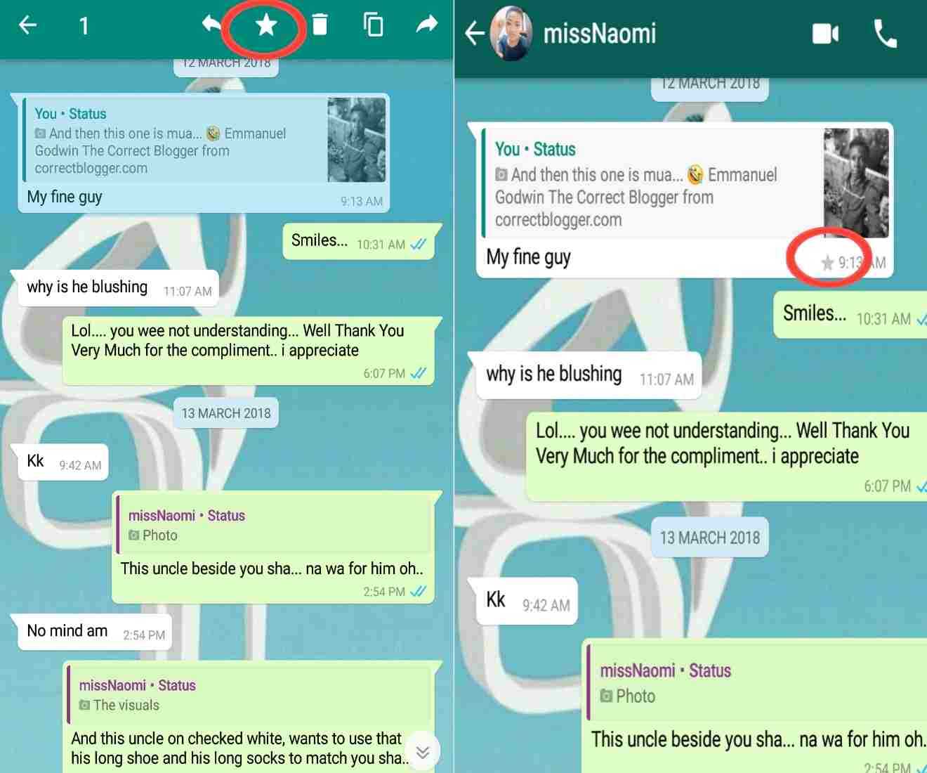 whatsapp tricks 101 - How to star messages on WhatsApp