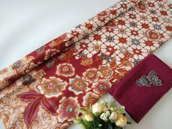 Bahan Batik Motif Bunga