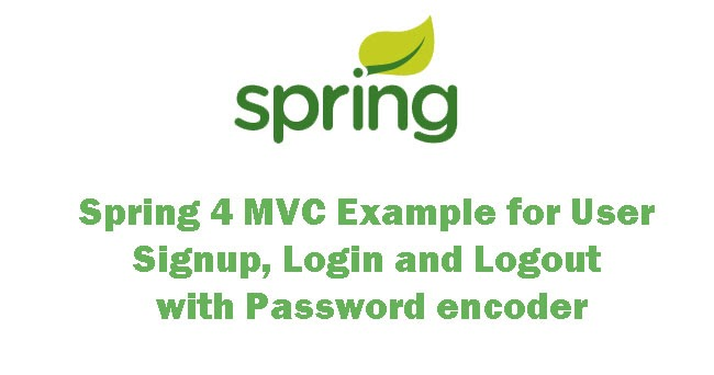 Creating a Web Application With Spring 4 MVC Example for