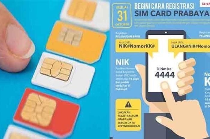 Cara Mudah Registrasi Kartu Telkomsel, Indosat, XL, Axis ...