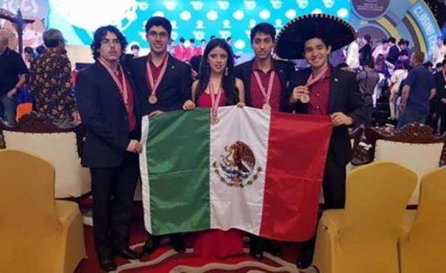 Jóvenes mexicanos ganana medallas en Olimpiada Mundial de Física