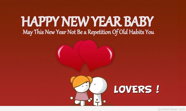 Quotes Image Of New Year 2018 For Lovers