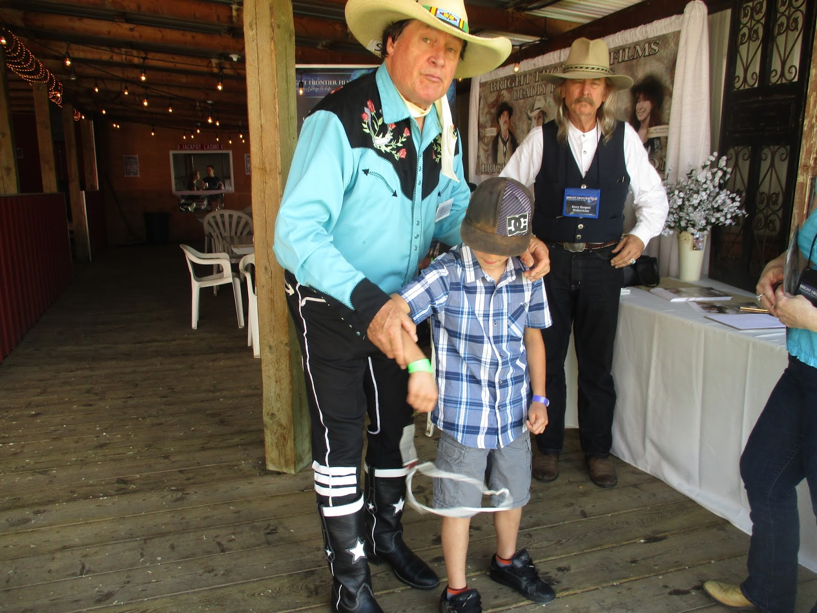 Comedy Cowboy Ivan Daines Pick Nic Pics