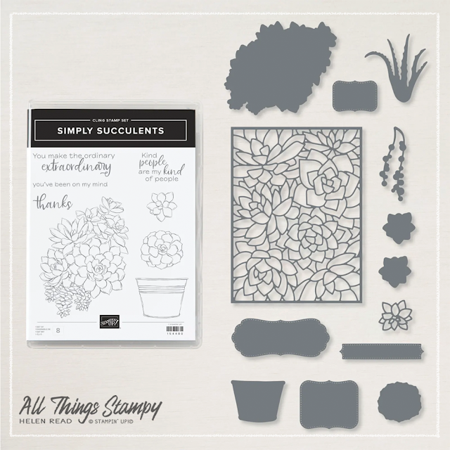 Simply Succulents bundle Stampin Up