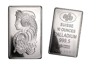 palladium bullion bar
