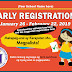 DepEd Early Registration Schedule (Free Editable Tarp)