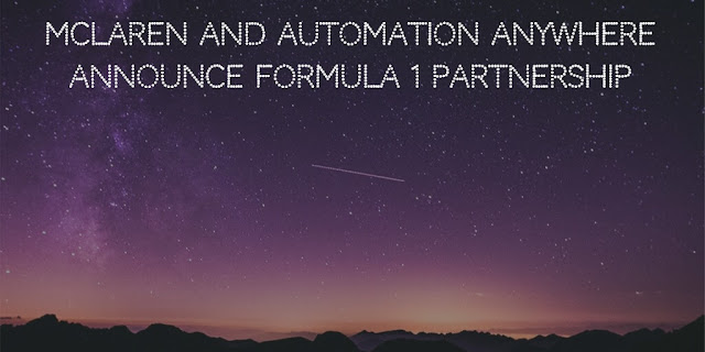 McLaren Racing and Automation Anywhere Announce Formula 1 Partnership