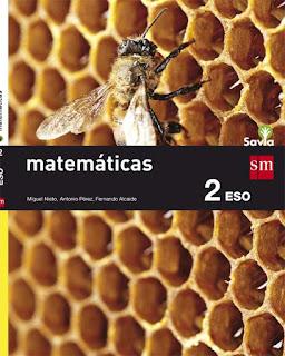 Libro Matemáticas 2º ESO SM Proyecto Savia