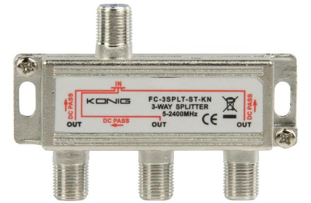 Repartidores + Distribuidor + Divisores + Splitter en redes de Televisión | Elementos de Telecomunicaciones