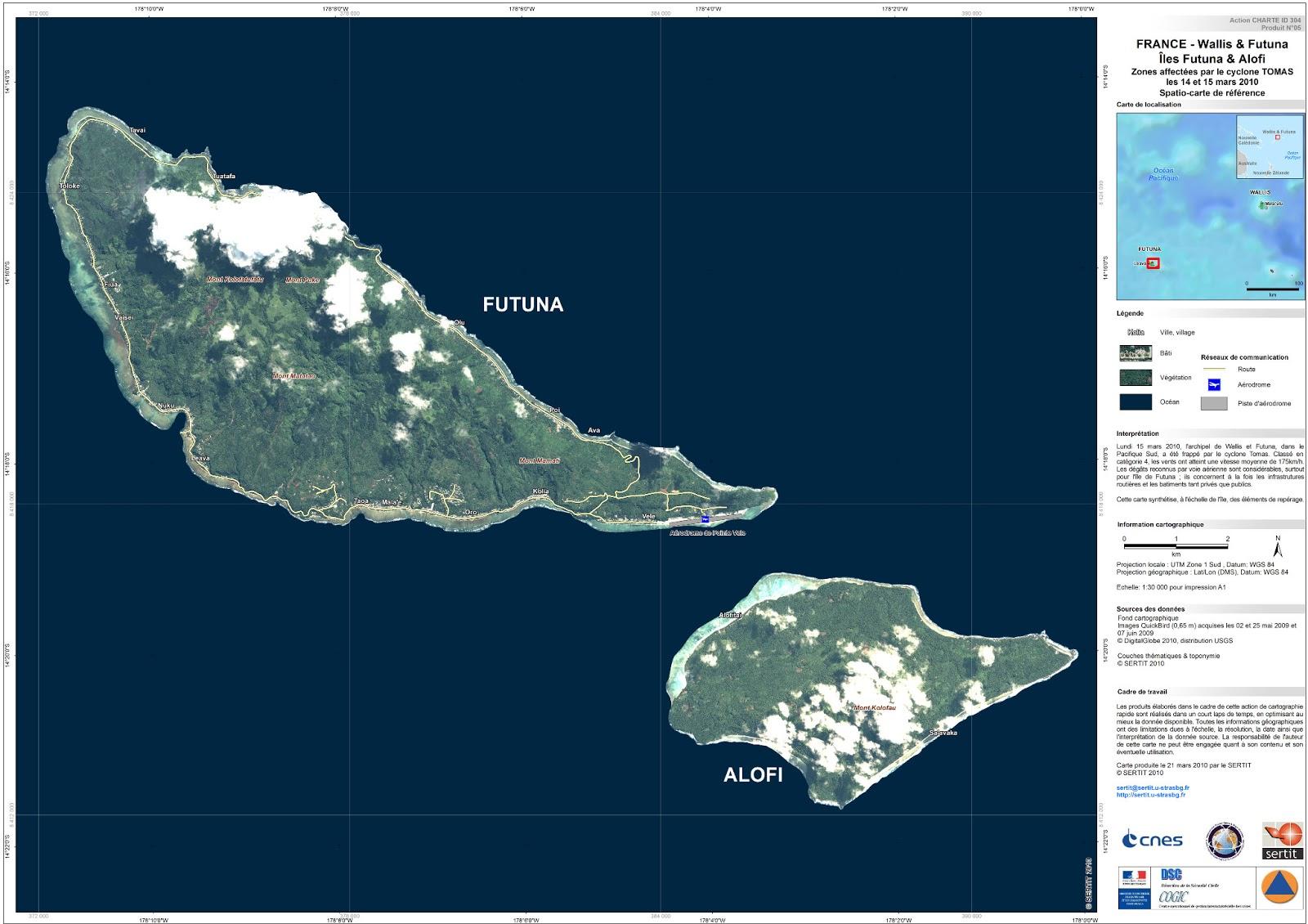 Mapas de Wallis e Futuna | França