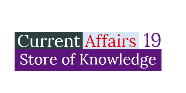 Current Affairs Download 2019 (PDF)