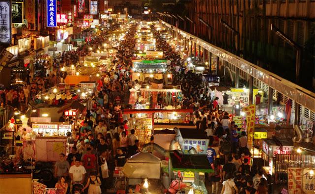 Khu chợ đêm nhộn nhịp nhất ở Đài Loan
