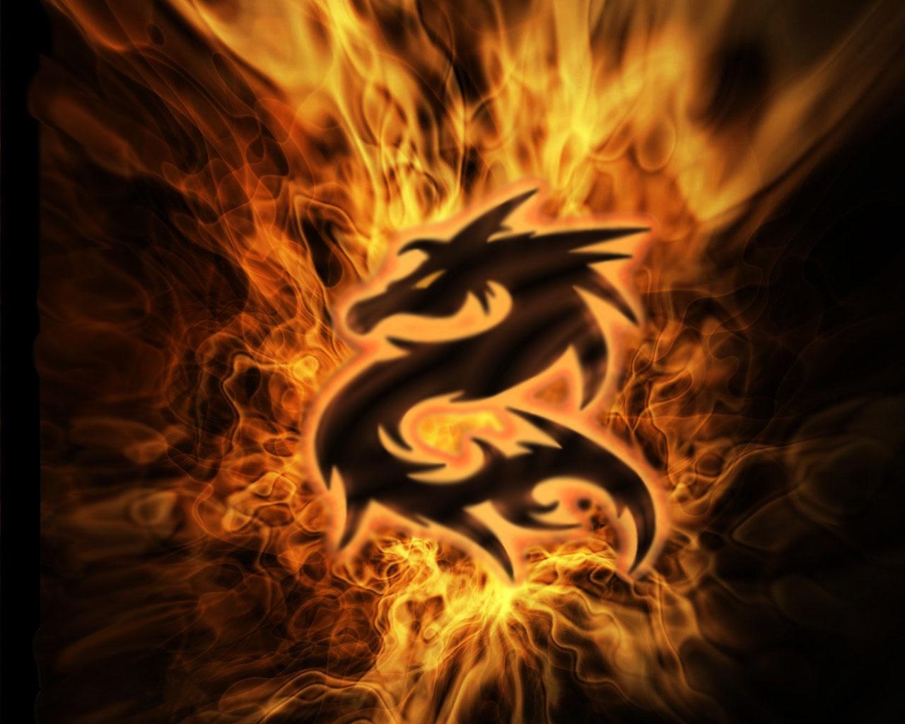 Dragon Background Wallpaper