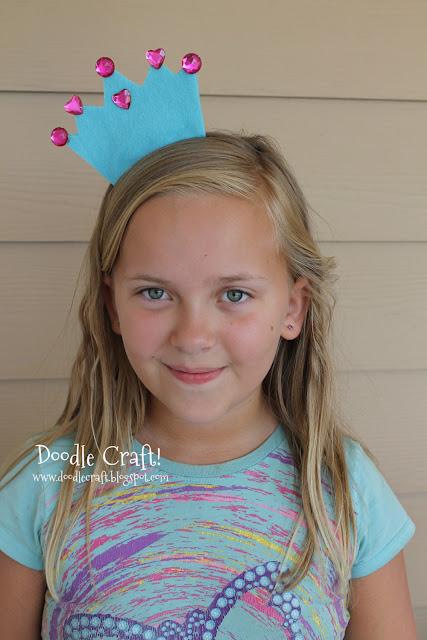 http://www.doodlecraftblog.com/2013/07/felt-and-rhinestone-princess-tiara.html