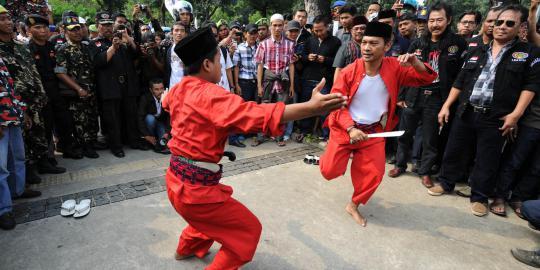 Tari Pencak Silat, Tarian Tradisional Betawi Jakarta