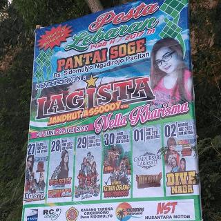 DIVA NADA Live Pantai Soge Pacitan Idul Fitri 2 Juli 2017