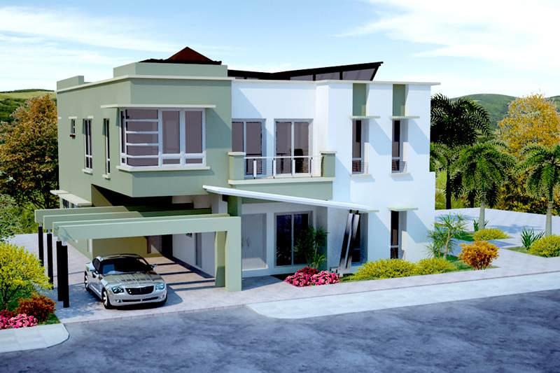 Fotos de casas im genes casas y fachadas for Modelos de casas de 2 pisos