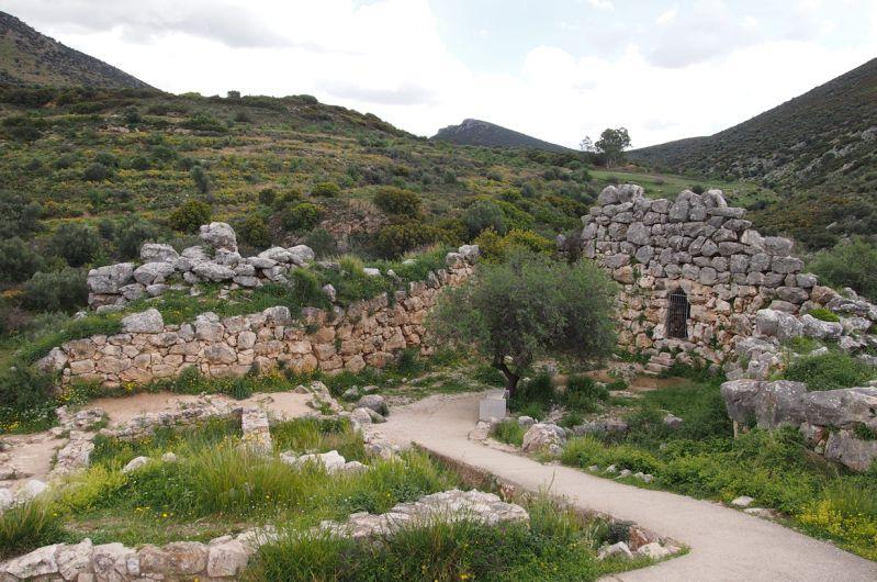 Osterweiterung der Burg Mykene