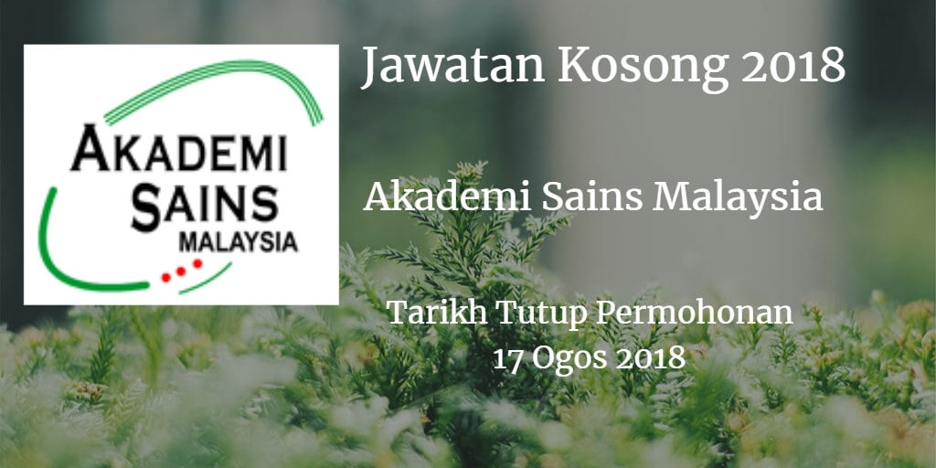 Jawatan Kosong ASM 17 Ogos 2018