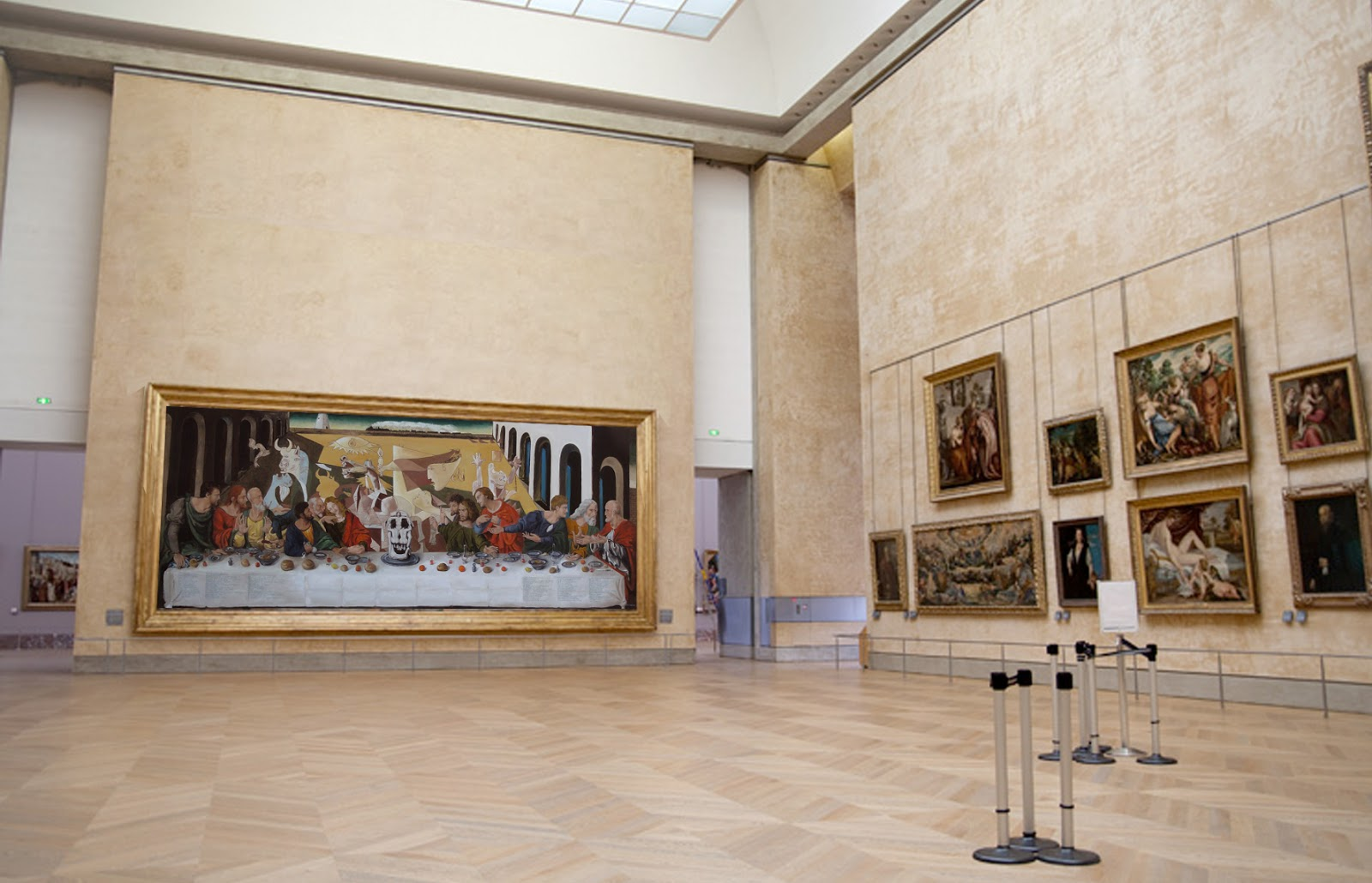 Debat Art Figuration La Cene Synchronistique Au Louvre