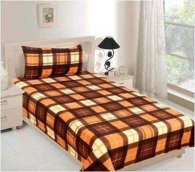 Multicolored Warm Single Bed sheet