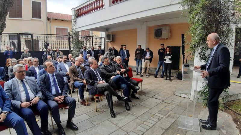 Στην πρώτη παρουσίαση του Δικτύου Πόλεων Μεγαλέξανδρου παρευρέθηκε ο Περιφερειάρχης ΑΜ-Θ Χρήστος Μέτιος