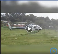 ibiwa%2B4 - Like a Boss ! Business almost comes to a standstill at Dagoretti Slaughter house after a trader landed in a chopper(VIDEO)