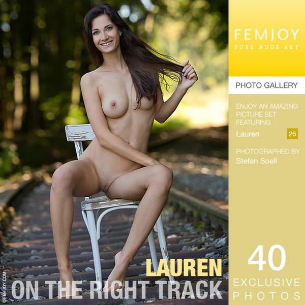 [FemJoy] Lauren - On The Right Track
