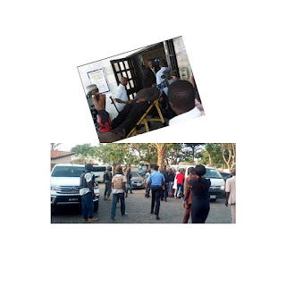 Police re-arrest Dino Melaye in hospital