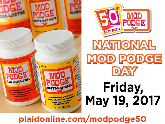 Celebrating Mod Podge 50th Anniversary